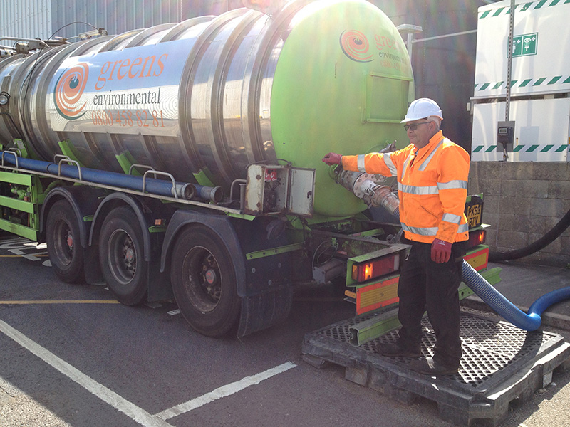 Greens Environmental Hazardous Waste Disposal, Product Recovery and Bulk Water Delivery